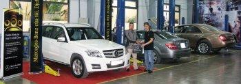 Mercedes hậu mãi nhân dịp kỷ niệm 20 năm đặt chân đến Việt Nam