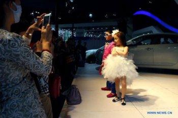 Người mẫu, trẻ em đều bị cấm cửa ở Triển lãm Ôtô Thượng Hải