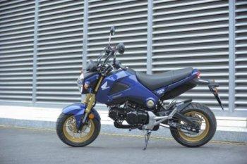 Honda MSX chưa tạo nổi sóng tại Việt Nam