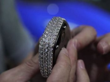 Chìa khóa xe hơi nạm 40 viên kim cương