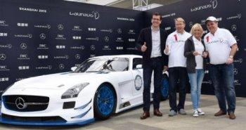 "Mercedes-Benz giới thiệu ""hàng độc"" SLS AMG GT3 Laures"