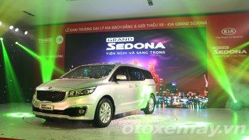 Ra mắt xe GRAND SEDONA tại đại lý Kia Bạch Đằng mới