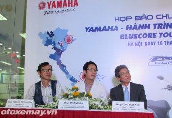 Du lịch khắp nước với Yamaha Blue Core Touring 2015