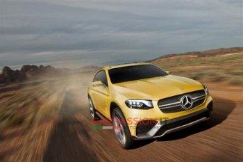 Rò rỉ hình ảnh concept Mercedes-Benz GLC Coupe