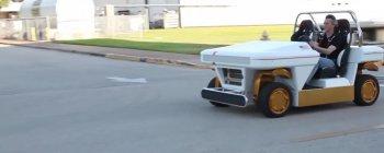 """Kỳ lạ NASA cũng """"chơi"""" drift bằng Buggy tự lái"""
