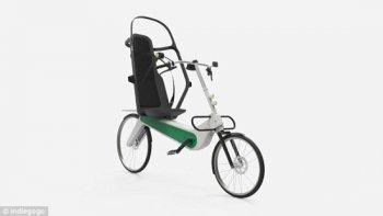 Xe đạp an toàn nhất thế giới sử dụng kết cấu lồng cuộn
