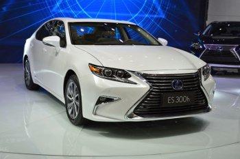 Lexus ES 2016 sẽ được bán ra vào nửa cuối năm 2015