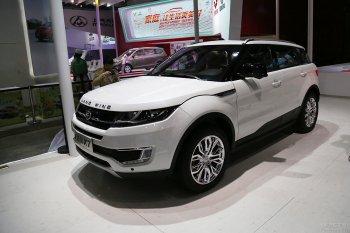 """Land Rover bất lực nhìn """"Evoque nhái"""" tại Shanghai Auto Show 2015"""