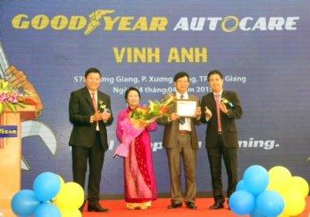 Goodyear mở rộng mô hình Autocare đến Bắc Giang