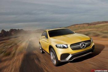 Mercedes-Benz Concept GLC Coupe sắp ra mắt