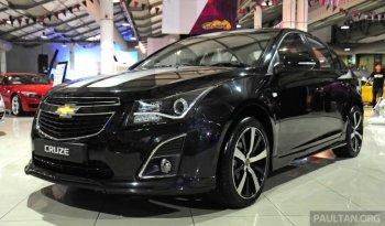 Chevrolet tăng tính thể thao cho chiếc sedan Cruze