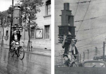 Nghệ thuật vận chuyển đồ ăn trên những chiếc xe đạp