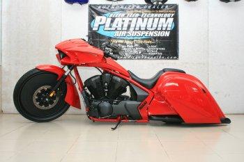 Phong cách Bagger quyến rũ cho môtô hàng khủng