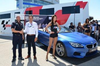 Tay đua vô địch thế giới MotoGP 2015 sẽ được nhận chiếc BMW M6 Convertible