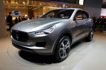 Maserati chọn Detroit Motors Show 2016 là nơi ra mắt SUV Levante?