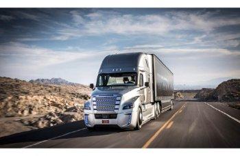 Xe tải tự lái đầu tiên bắt đầu ra phố