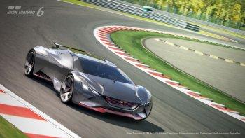 Peugeot Vision Gran Turismo concept từ nét vẽ đến hiện thực