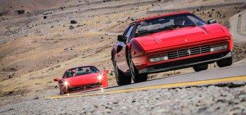Ferrari ngoạn mục băng núi