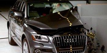 Audi Q5 2016 đạt tiêu chuẩn an toàn cao nhất của IIHS
