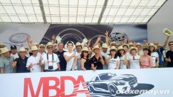 Những pha lái phấn khích ở Mercedes-Benz Driving Academy 2015