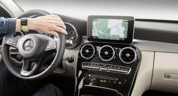 Đến lượt xe Mercedes được tích hợp Apple Watch