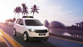 Singapore cứu môi trường bằng taxi điện siêu tiện dụng