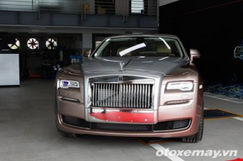 Cảm nhận Rolls-Royce Ghost Series II tại Hà Nội