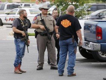 Băng đảng môtô xã hội đen xả súng đẫm máu.