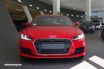 Audi TT Coupe 2.0 TFSI đầu tiên xuất hiện tại Hà Nội