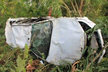 Chưa ra mắt, Toyota Hilux 2016 đã gặp tai nạn!