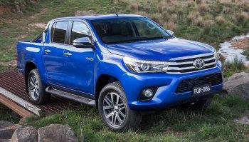 Toyota Hilux 2016 ra mắt với toàn trang bị xịn