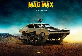 """10 xe đoạt danh hiệu """"điên"""" nhất trong Mad Max"""