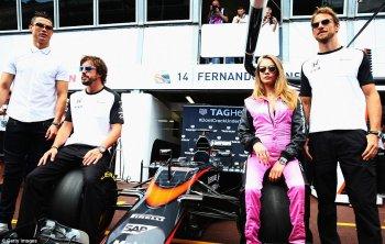 F1 2015: Chặng 6 rực rỡ hơn với sự xuất hiện của CR7