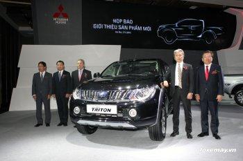 Mitsubishi ra mắt 4 phiên bản Triton thế hệ mới tại Việt Nam