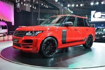 Bán tải Range Rover đã thành hiện thực ?