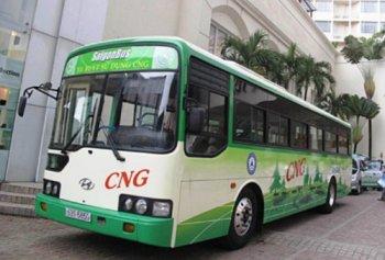 Đồng Nai chi hơn 630 tỷ đồng mua xe buýt sử dụng nhiên liệu khí thiên nhiên