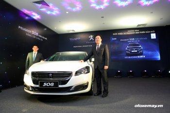 Peugeot 508 ra mắt đời mới với thân xe dài giá 1 tỷ 420 triệu