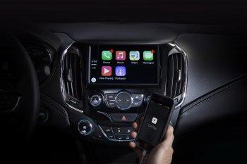 Chevrolet Cruze 2016 sẽ tương thích với Android Auto và Apple CarPlay