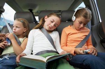 Lái xe an toàn khi có trẻ nhỏ