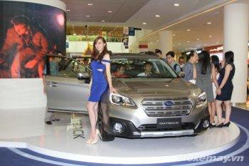 """Dù chưa """"lớn"""" Subaru vẫn tự tin áp giá xe cao ngất ngưởng"""