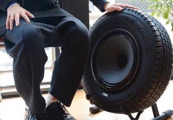 Kiếm bộn tiền từ loa độ bằng lốp xe cũ?