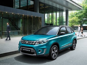 Suzuki Vitara 2015 trở lại với nhiều thú vị