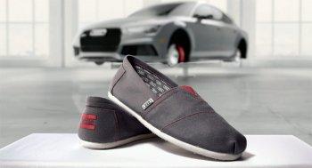 Mua xe Audi, khách hàng được tặng giày độc quyền