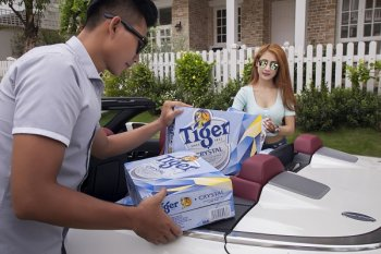 Tiger Crystal lon mới làm bùng nổ sảng khoái mùa hè