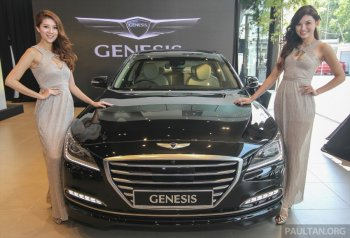 Hyundai Genesis thế hệ mới ra mắt tại Malaysia