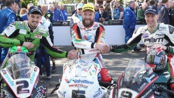 Isle of Man TT 2015: Anstey ngược dòng giành chiến thắng ngoạn mục