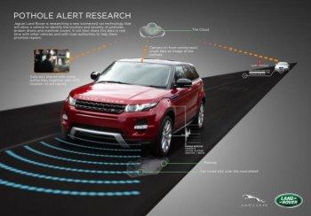 """Xe Jaguar - Land Rover sẽ """"né ổ gà"""" tốt hơn"""