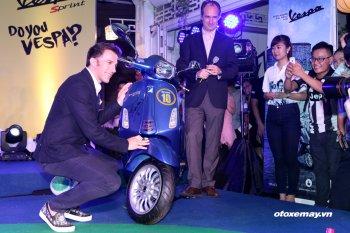 """Vespa Sprint """"độc nhất vô nhị"""" xuất hiện tại Việt Nam"""