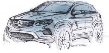 Hình ảnh đầu tiên chiếc SUV cỡ nhỏ Mercedes-Benz GLC
