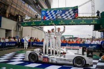 Porsche vô địch giải đua xe Le Mans 2015